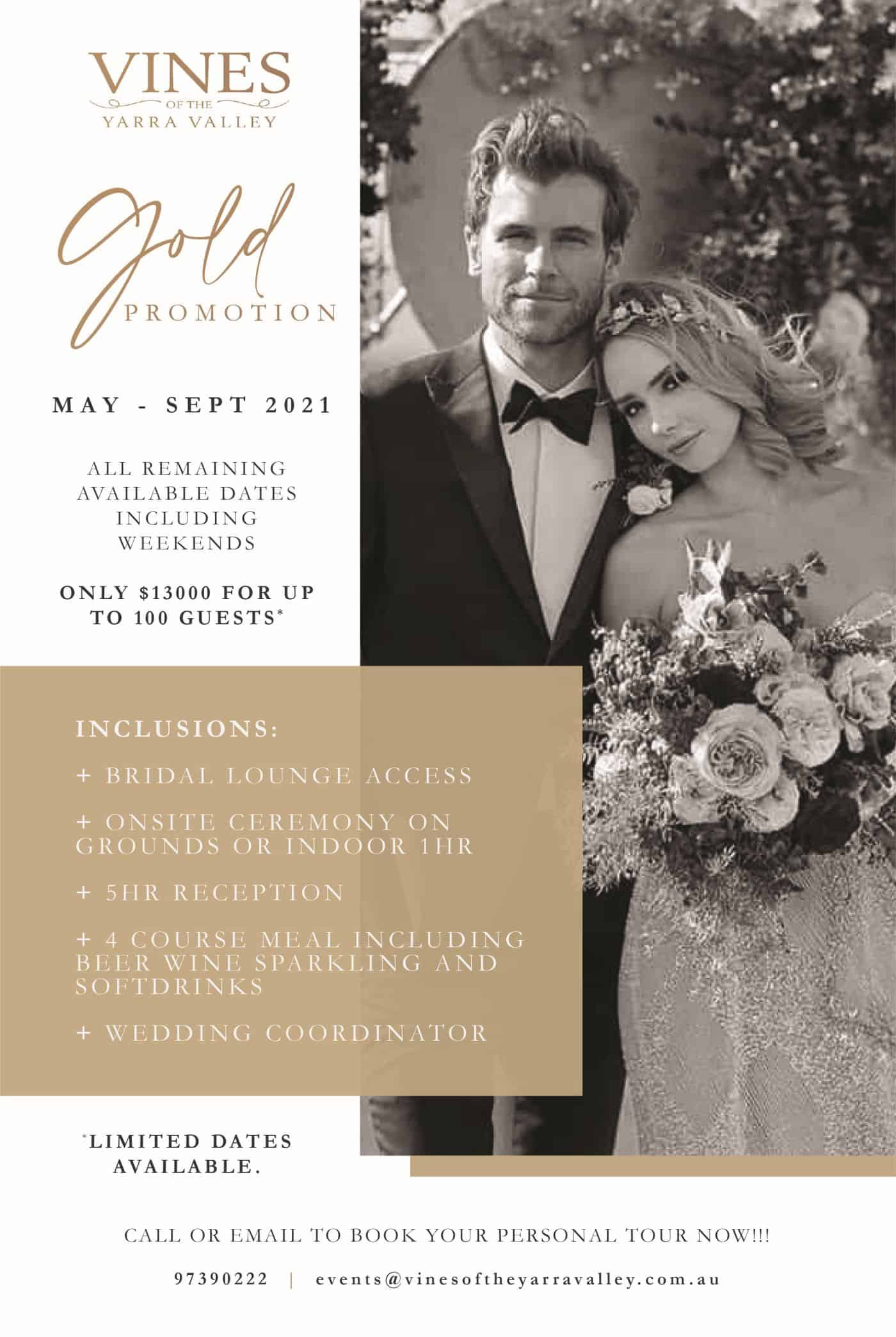 Gold Promotion A4 Flyer (1)