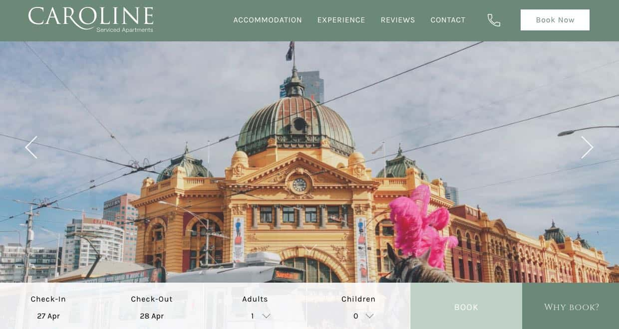 caroline serviced apartments accommodation and hotel brighton melbourne