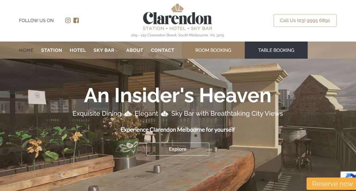 clarendon hotel and accommodation burwood melbourne
