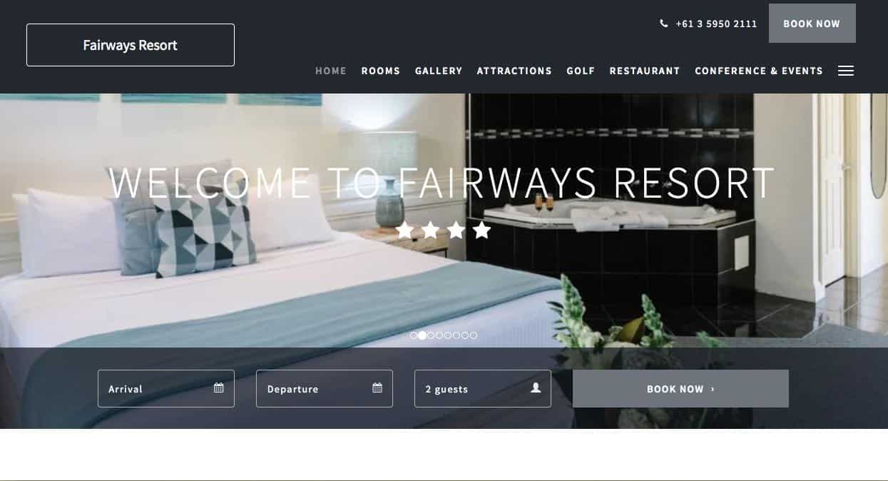 fairways resort accommodation and hotel brighton melbourne