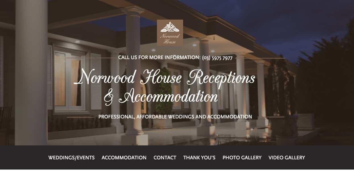 Norwood House Accommodation and hotel burwood melbourne