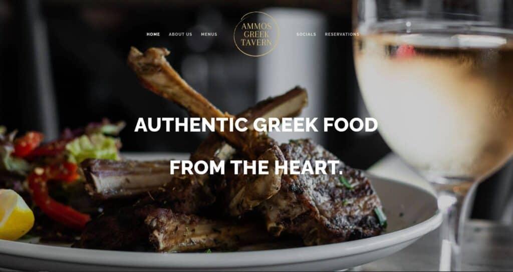 ammos greek tavern