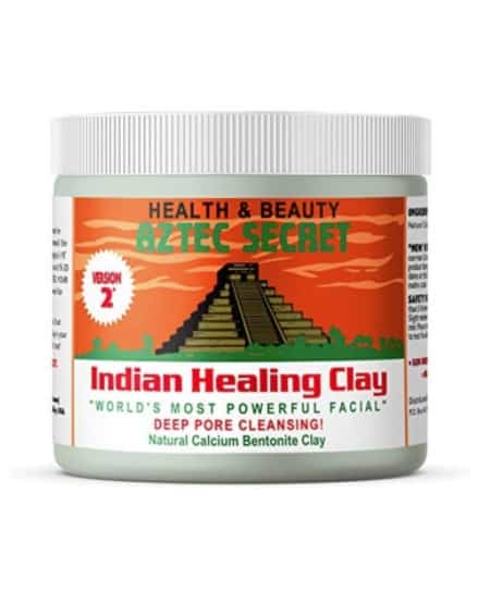 aztec clay mud face mask
