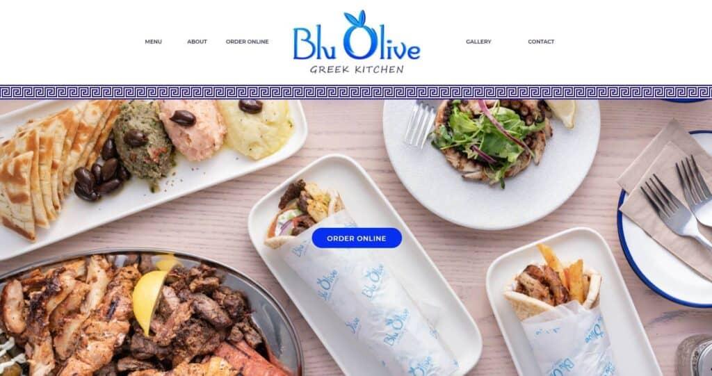blu olive greek kitchen