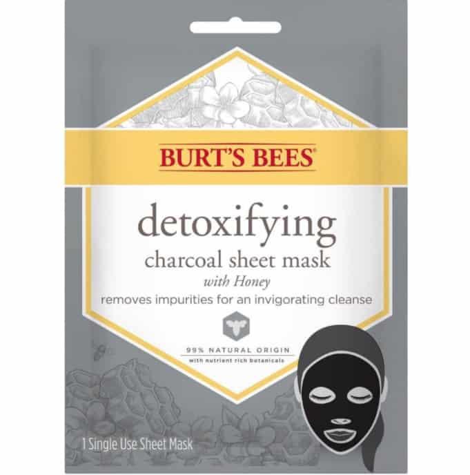 burt's bee charcoal face mask