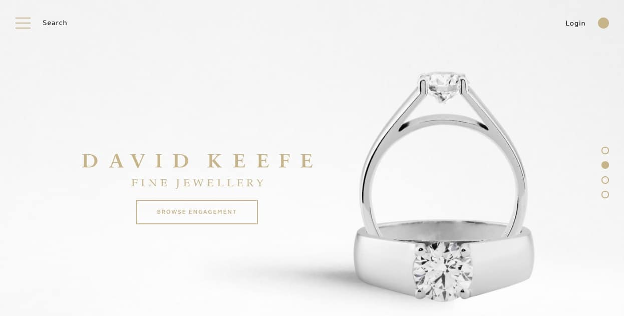 david keefe fine jewellery wedding and engagement rings new zealand