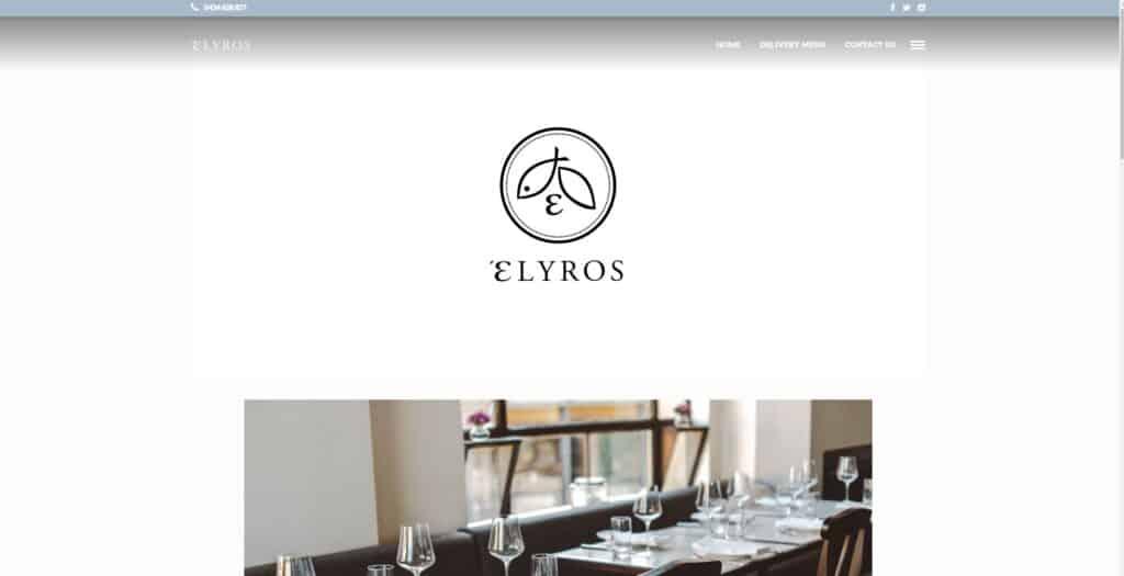 elyros restaurant