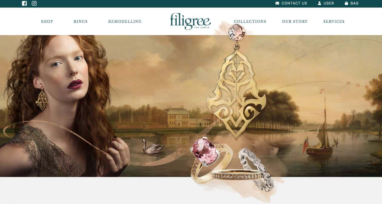 filigree wedding and engagement rings new zealand