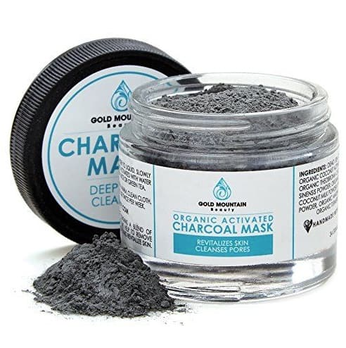 gold mountain beauty charcoal face mask