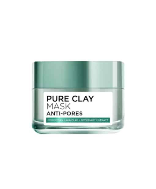 loreal paris clay mud face masks