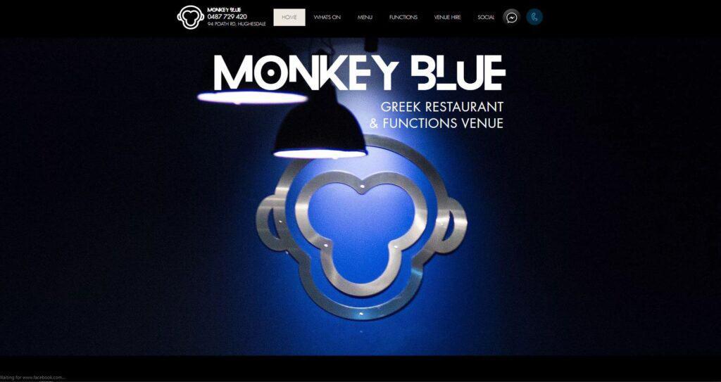 monkey blue restaurant & bar