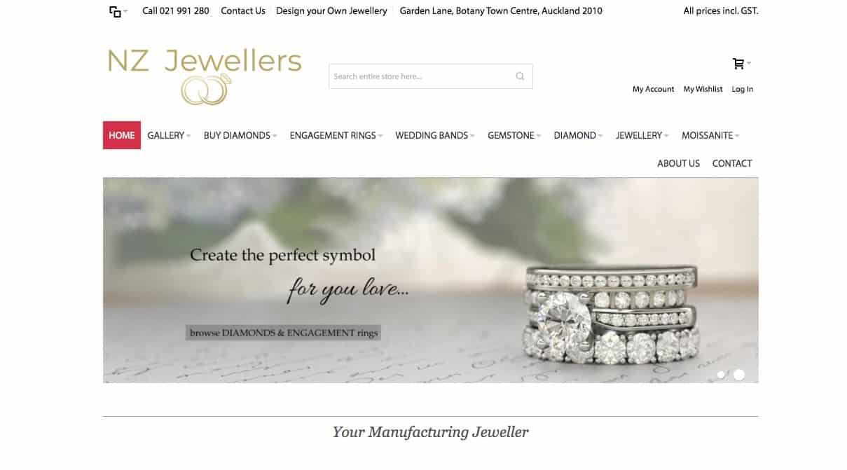 nz jewellers wedding and engagement rings new zealand