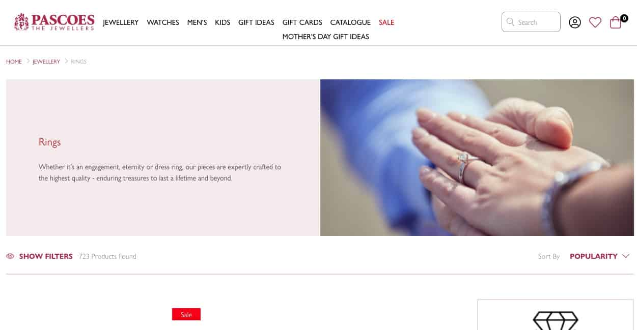 pascoes the jewellers wedding and engagement rings new zealand