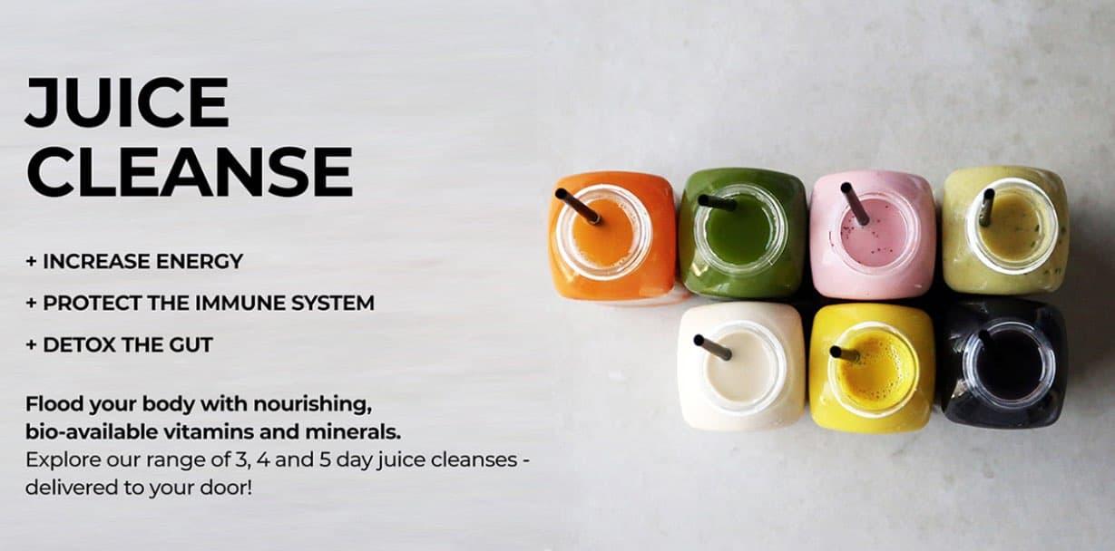 pressed juices detox cleanse drink
