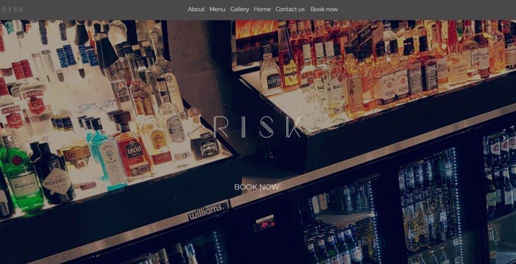 risk bar