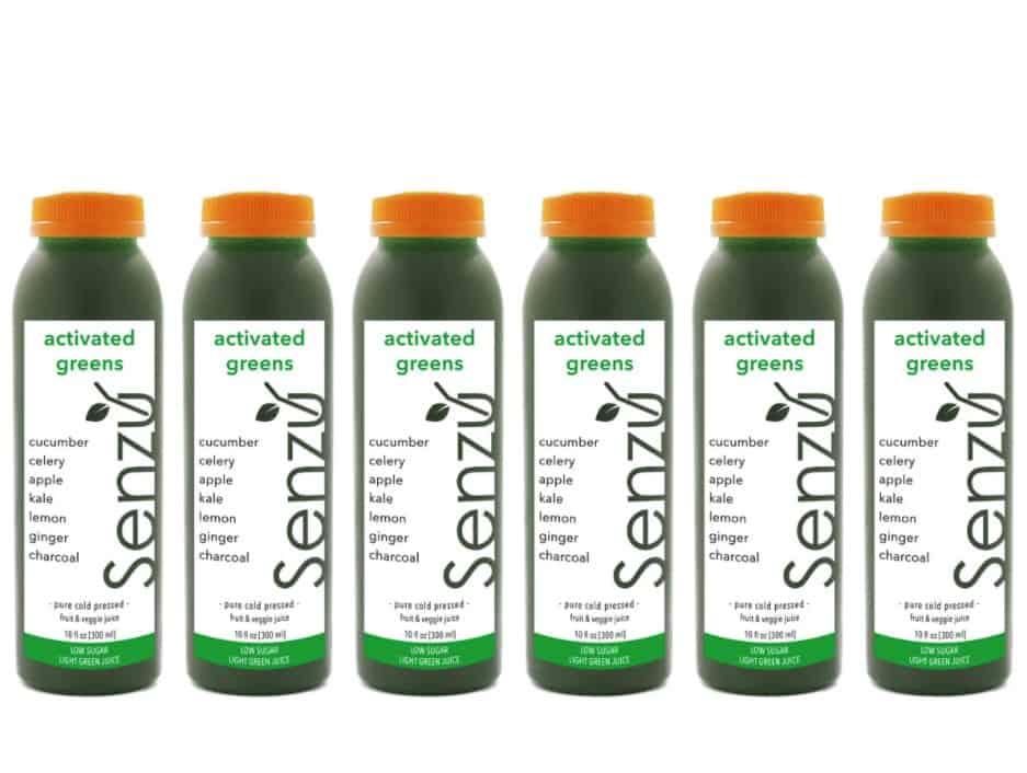senzu juicery detox cleanse drink