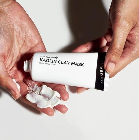 the inkey list clay mud face mask