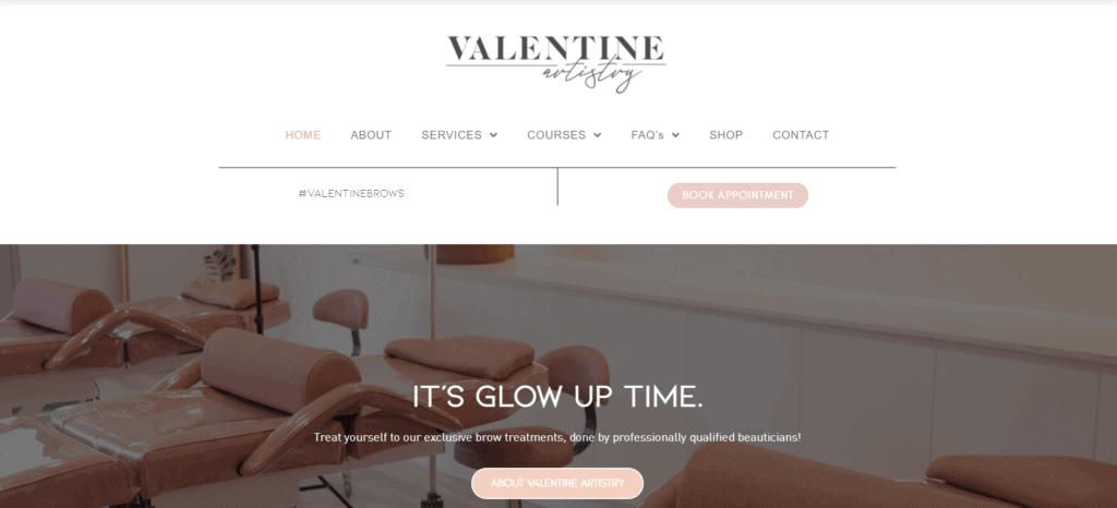 valentine artistry