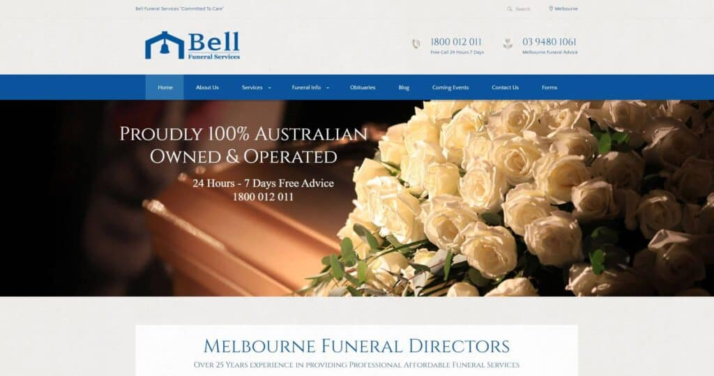 bell funeral services
