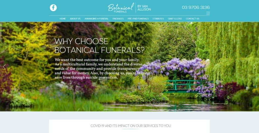 botanical funeral