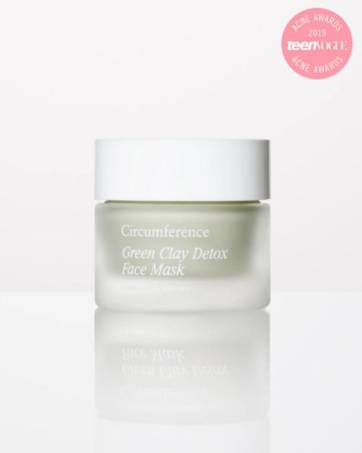 circumference detoxifying face mask