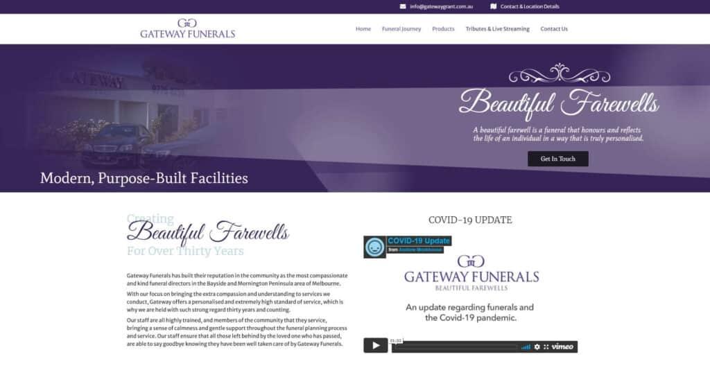 gateway funerals