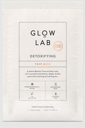 glow lab detoxifying face mask