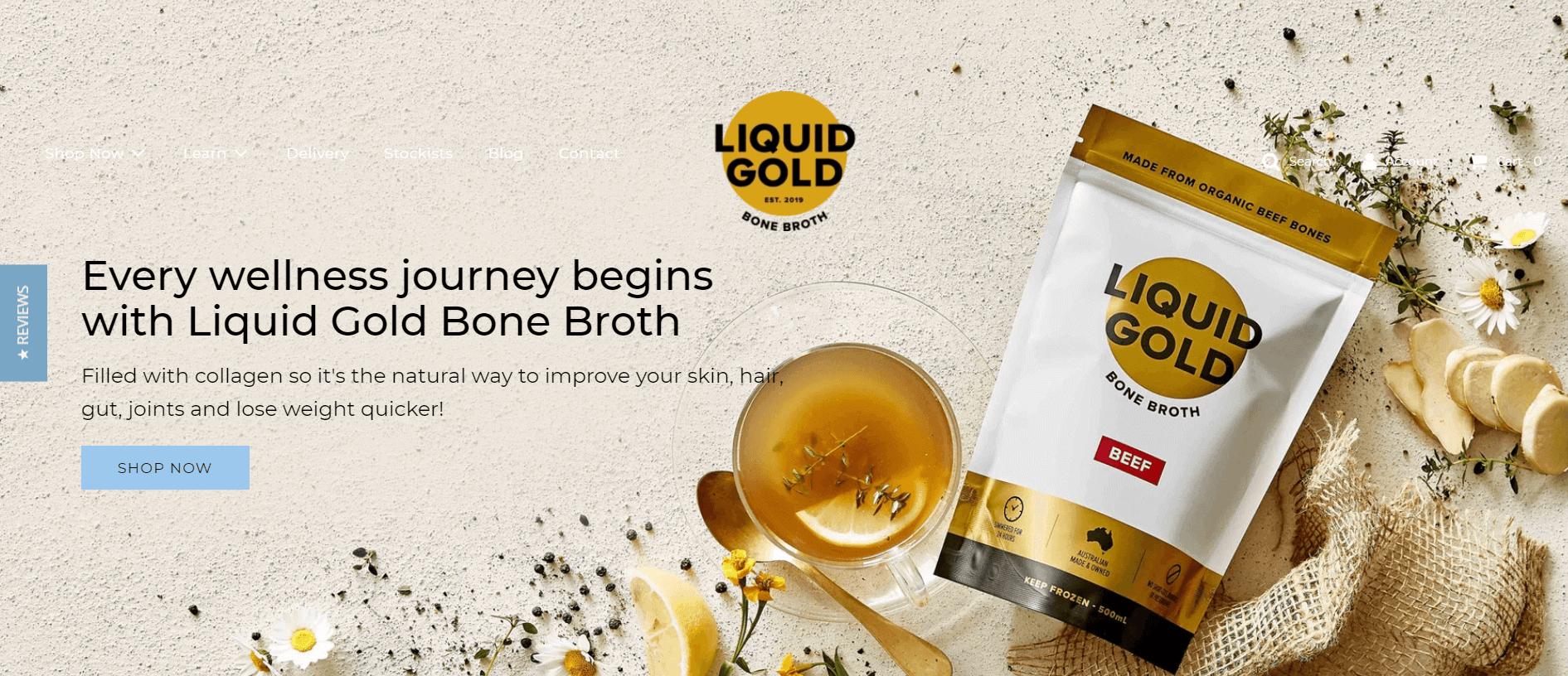 liquid gold bone broth