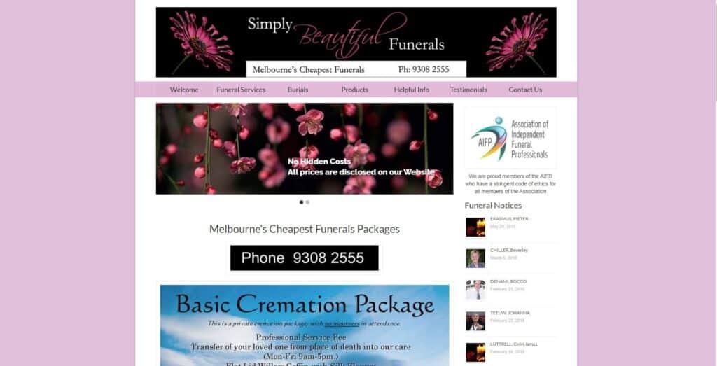 melbourne's cheapest funerals