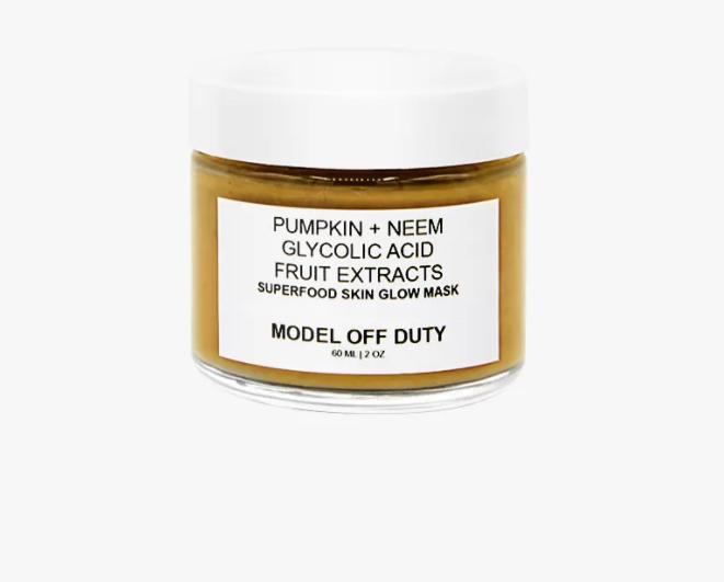 model off duty beauty skin brightening face mask