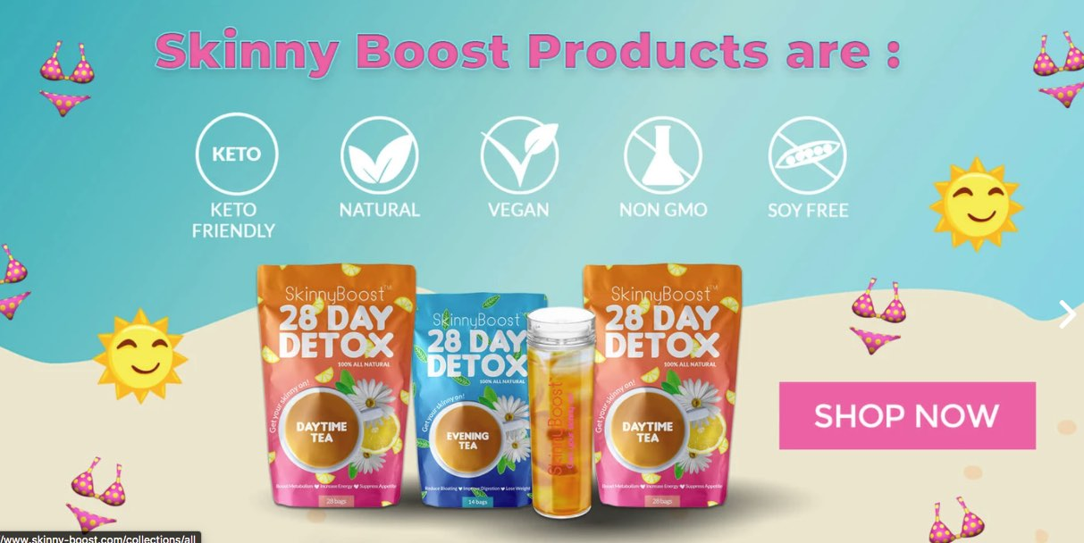 skinny boost Intermittent Fasting Cleanse Drink