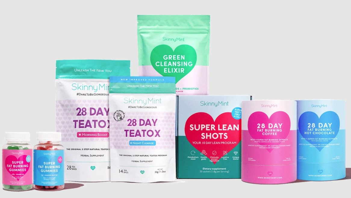 skinny mint  Intermittent Fasting Cleanse Drink