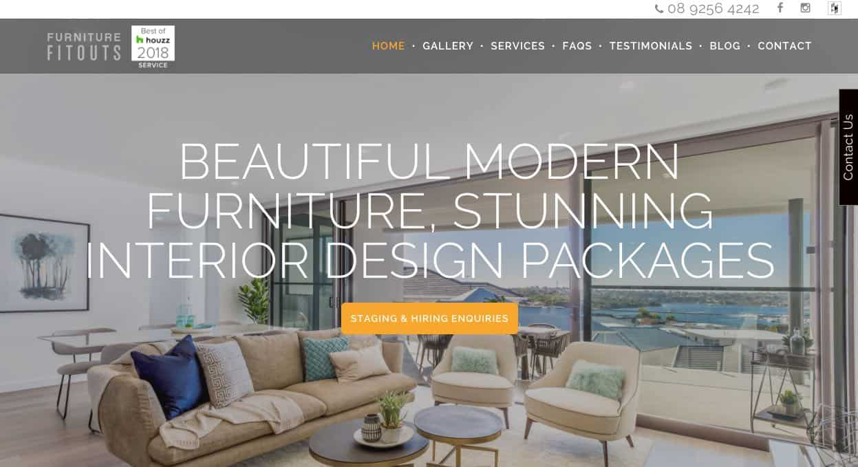 furniture fit out company perth