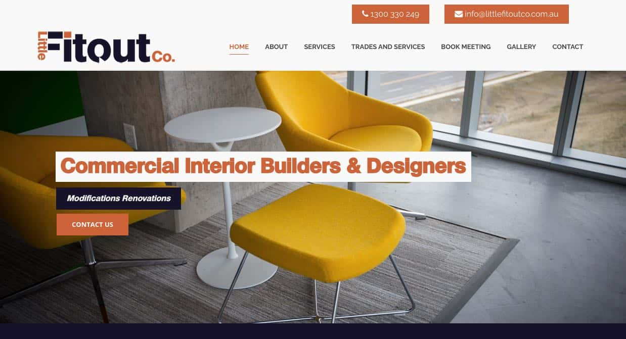 little fitout co. fit out company perth