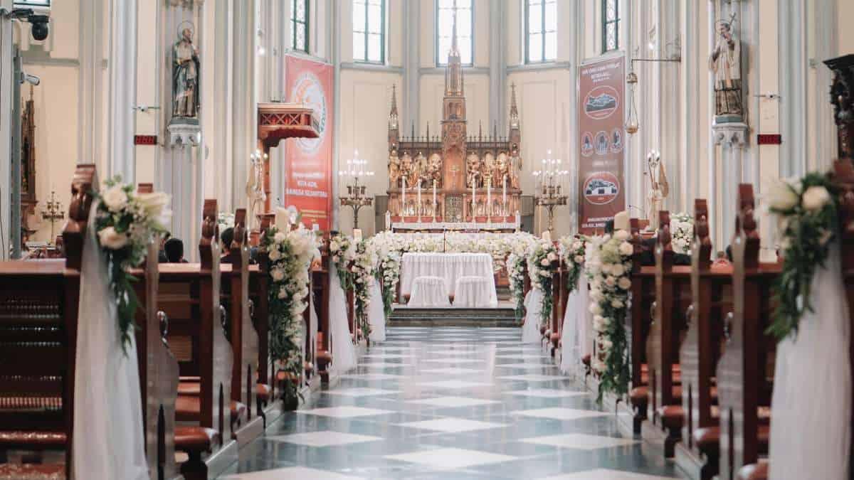 should i consider a church wedding