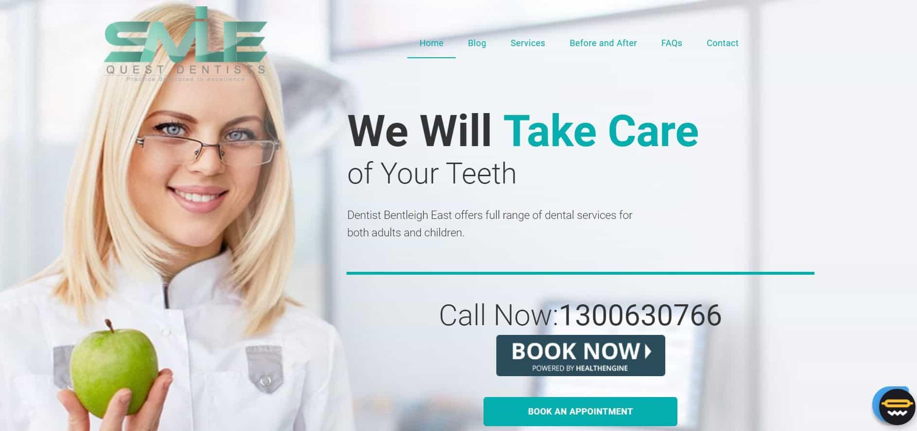 smile quest dentists