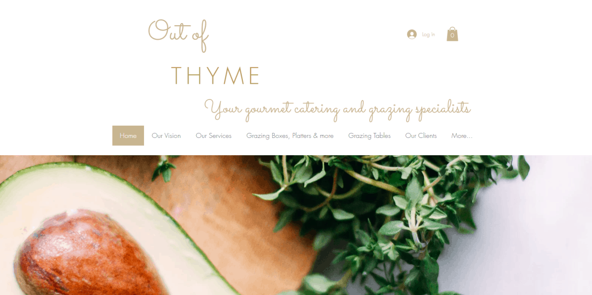 out of thyme