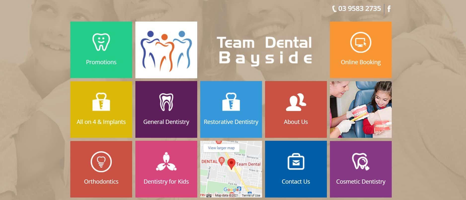 team dental bayside