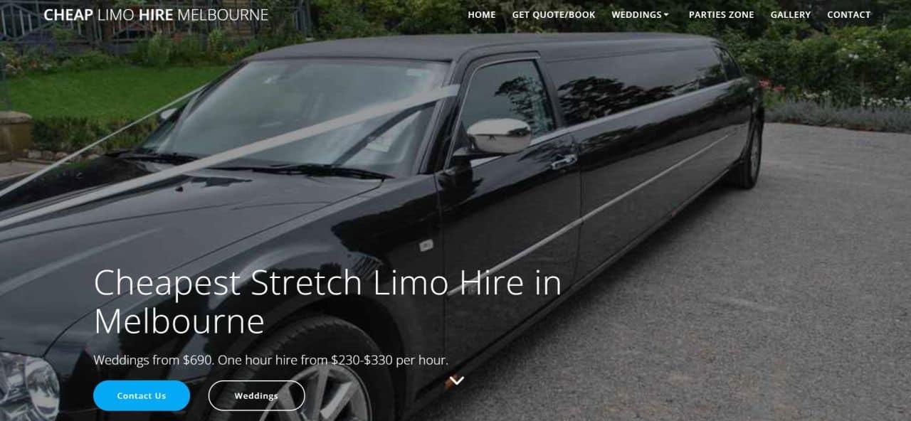 cheap limo hire melbourne
