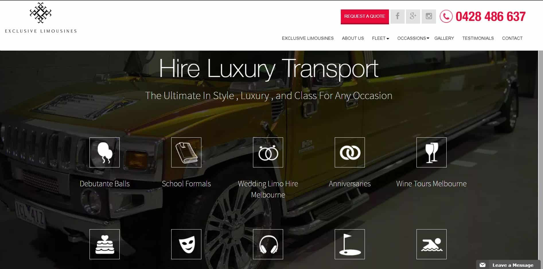 exclusive limousines & hummer hire melbourne
