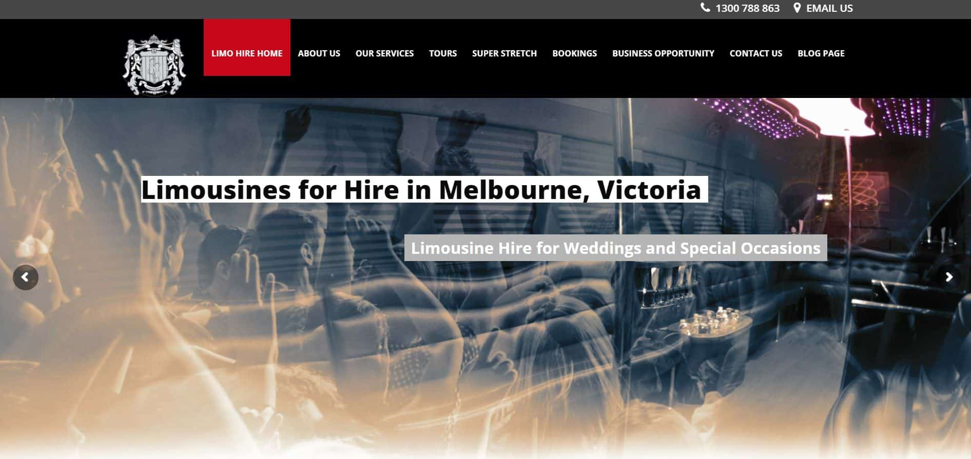silver service limousines & hummer hire melbourne