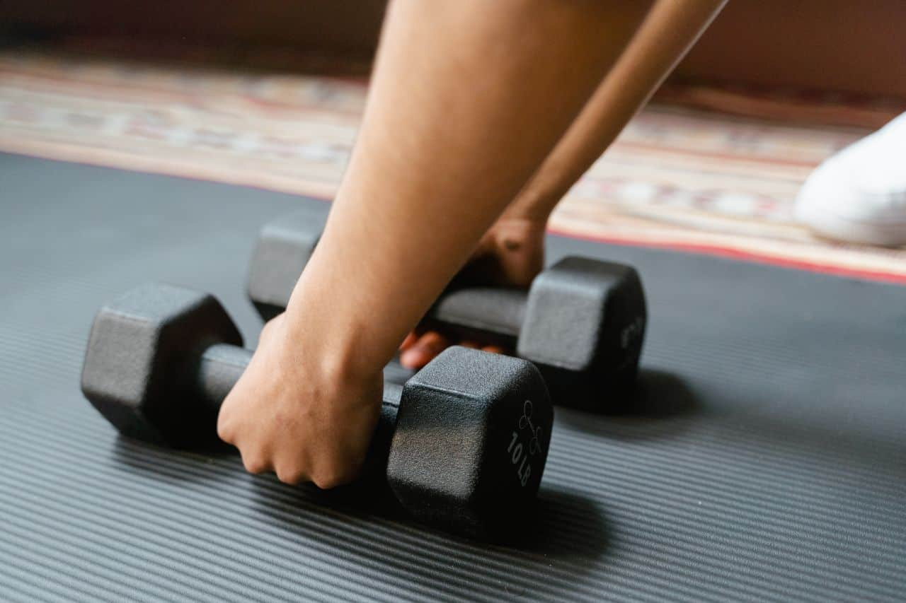 what dumbbell exercises can i do at home